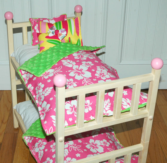 bedding for 18 inch doll bed 2