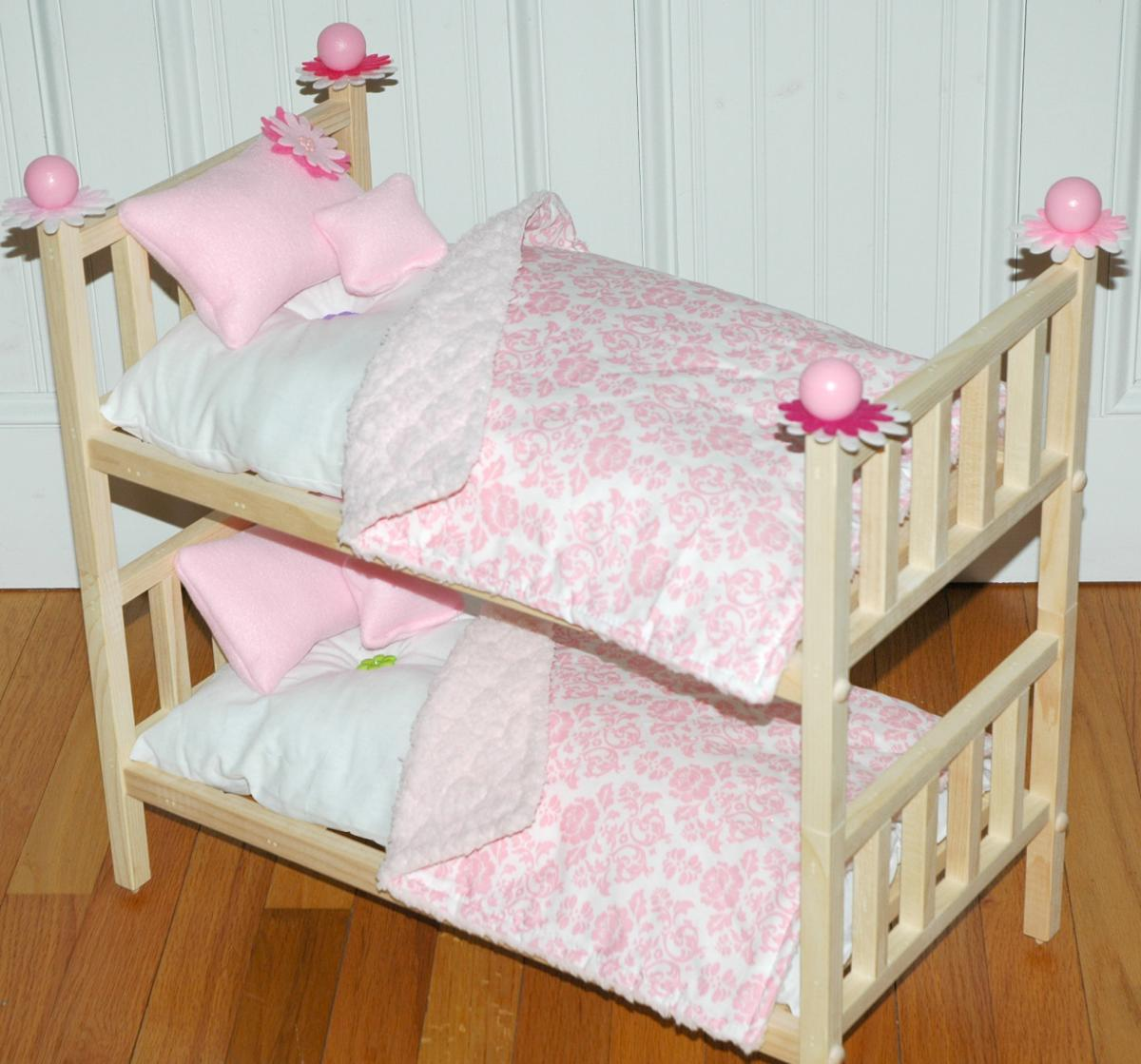 Bunk Bed Dolls: Doll Bunk Bed Perfectly Pink