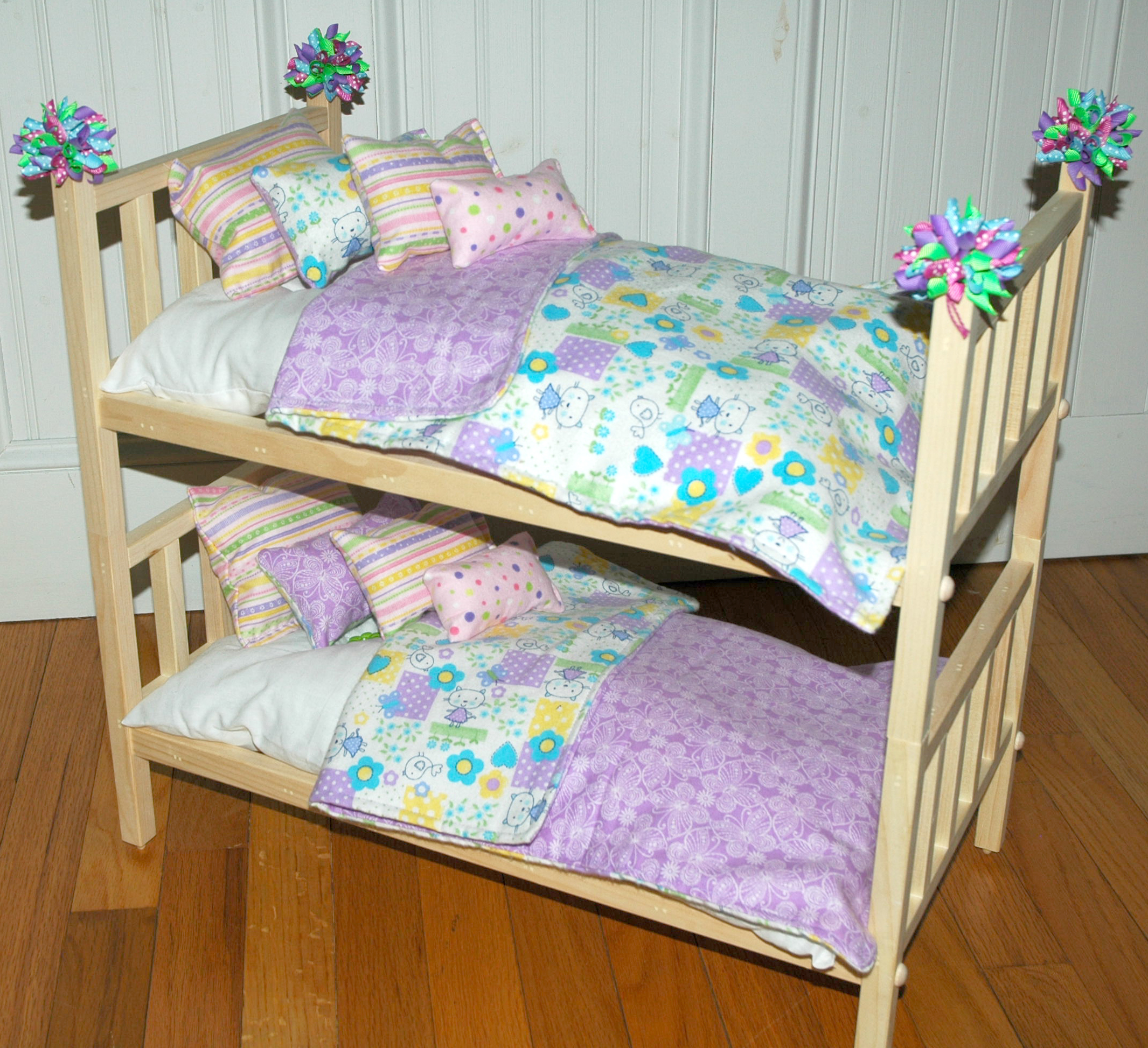 American Girl Doll Bed - Doll Bunk Bed Soooo Cute Kittens ...